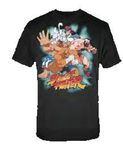 Street Fighter Muscle T-Shirt [Adult Small]