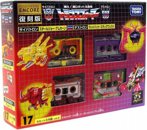 Transformers Japanese Renewal Encore Cassettes Action Figure Set #17 [#17]