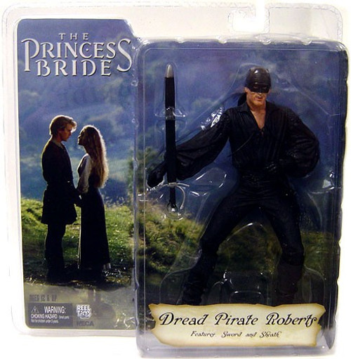NECA The Princess Bride Dread Pirate Roberts Action Figure