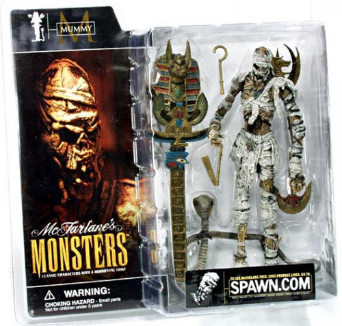 McFarlane Toys McFarlane's Monsters Series 1 Mummy Action Figure [Clean Package]