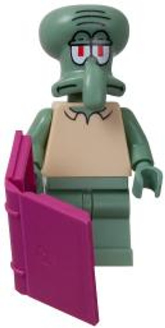 LEGO Spongebob Squarepants Loose Squidward Minifigure [Loose]