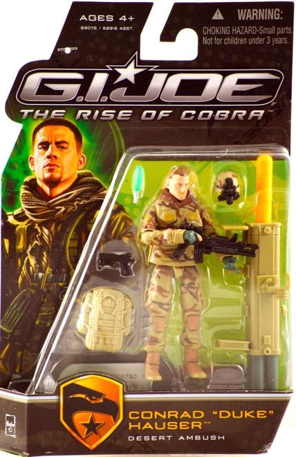 GI Joe The Rise of Cobra Conrad Hauser Duke Action Figure [Desert Ambush]