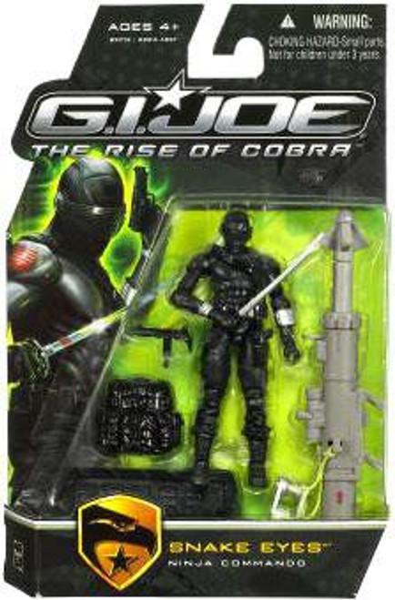 GI Joe The Rise of Cobra Snake Eyes Action Figure [Ninja Commando]