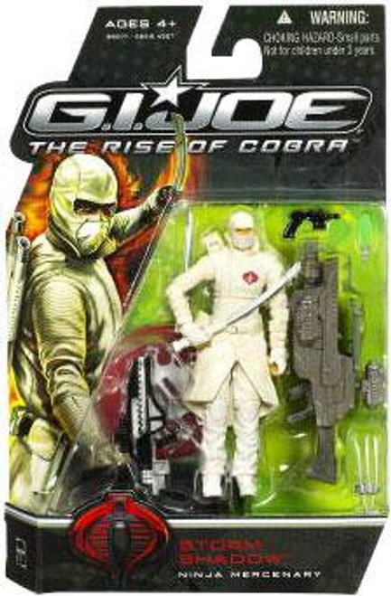 GI Joe The Rise of Cobra Storm Shadow Action Figure [Ninja Mercenary]