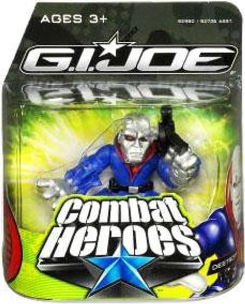 GI Joe The Rise of Cobra Combat Heroes Destro Mini Figure