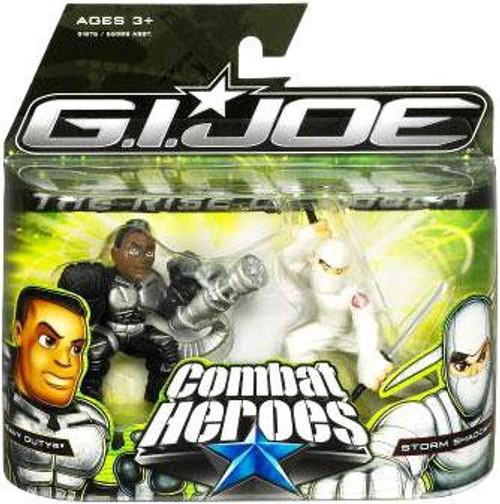 GI Joe The Rise of Cobra Combat Heroes Heavy Duty & Storm Shadow Mini Figure 2-Pack