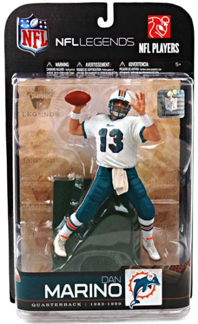 McFarlane Toys NFL Miami Dolphins Sports Picks Legends Series 5 Dan Marino Action Figure [White Jersey Variant]
