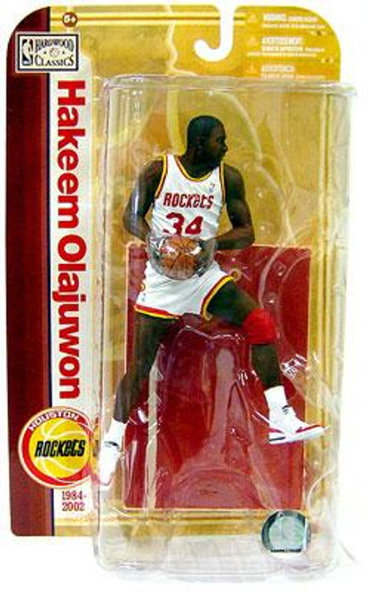 McFarlane Toys NBA Houston Rockets Sports Picks Legends Series 5 Hakeem Olajuwon Action Figure [White Jersey Variant]