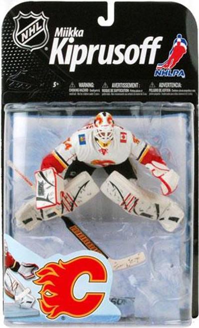 McFarlane Toys NHL Calgary Flames Sports Picks Series 22 Miikka Kiprusoff Action Figure [White Jersey Variant]