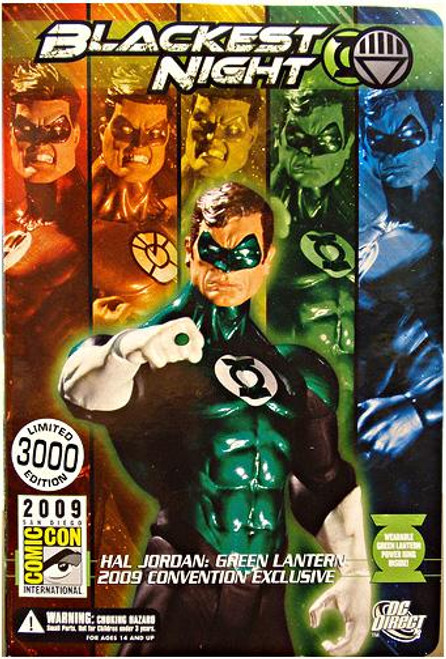 DC Blackest Night Hal Jordan Green Lantern Exclusive Action Figure