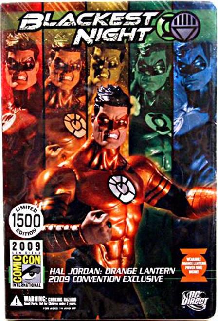 DC Green Lantern Blackest Night Hal Jordan Orange Lantern Exclusive Action Figure