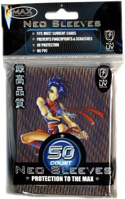 Card Supplies Neo Sleeves Ninja Girl Standard Card Sleeves [50 ct]
