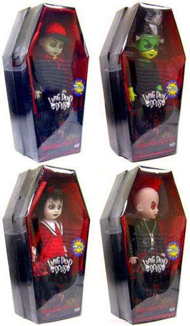 Living Dead Dolls Set of 4 Resurrection Exclusive Dolls