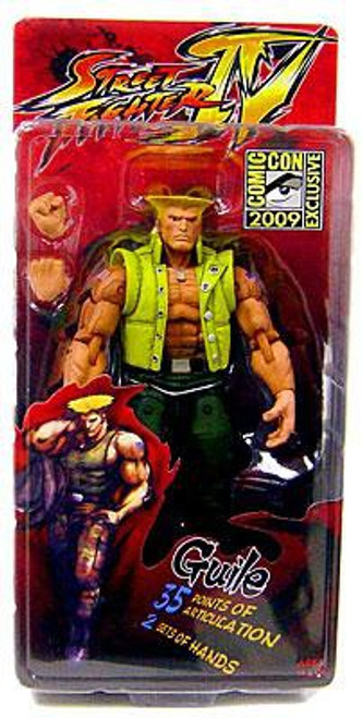 NECA Street Fighter IV Guile Exclusive Action FIgure [Charlie Costume]