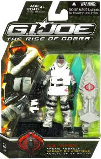 GI Joe The Rise of Cobra Ice Viper Action Figure