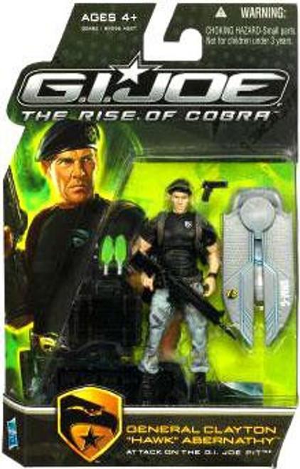 GI Joe The Rise of Cobra General Clayton Abernathy Hawk Action Figure