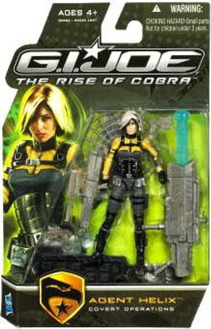 GI Joe The Rise of Cobra Agent Helix Action Figure