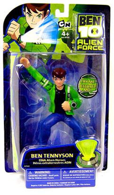 Ben 10 Alien Force DNA Alien Heroes Ben Tennyson Action Figure