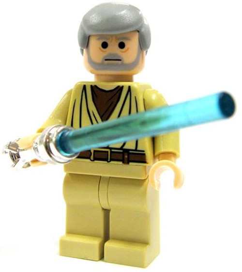 LEGO Star Wars Loose Obi-Wan Kenobi Minifigure [A New Hope, Chrome Handle Loose]