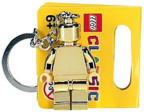 LEGO Golden Minifigure Keychain #852688