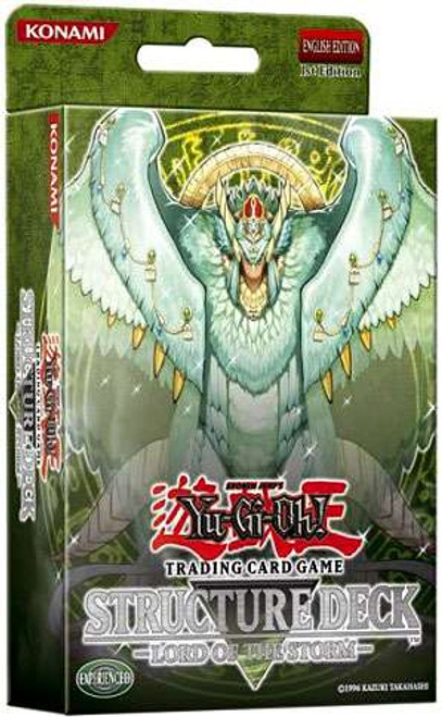 YuGiOh Structure Deck: Lord of the Storm Lord of the Storm Structure Deck [1st Edition] [Sealed Deck]