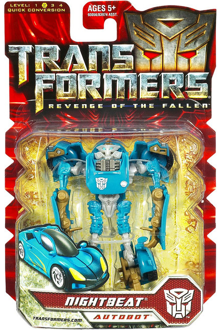 Transformers Revenge of the Fallen Nightbeat Scout Action Figure