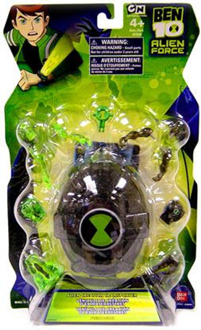 Ben 10 Alien Force Alien Creation Transporter Set [Black]