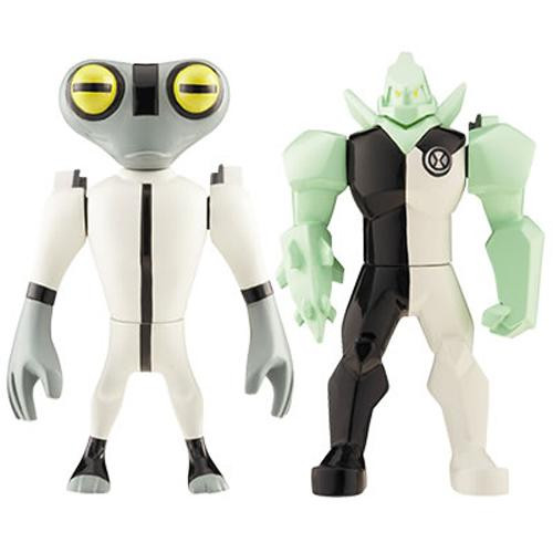 Ben 10 Alien Force Alien Creation Chamber Diamondhead & Grey Matter Mini Figure 2-Pack