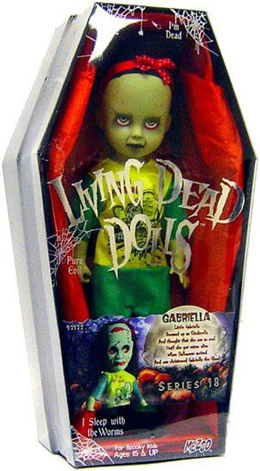 Living Dead Dolls Series 18 Gabriella Doll