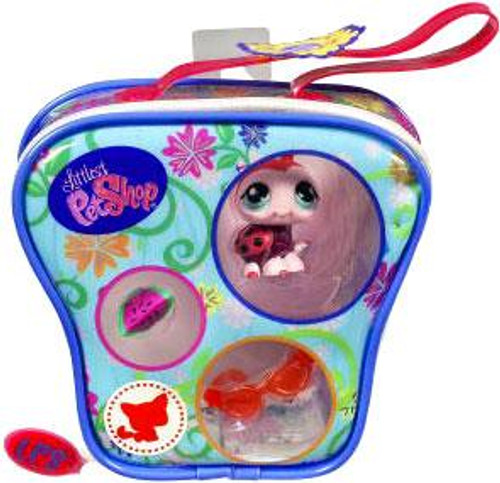 Littlest Pet Shop Ladybug Purse Carry Case