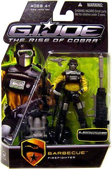 GI Joe The Rise of Cobra Barbecue Exclusive Action Figure