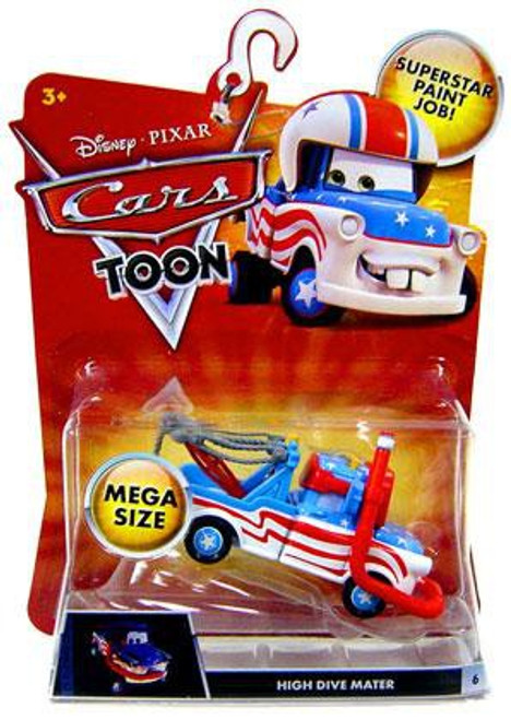 Disney Cars Cars Toon Deluxe Oversized High Dive Mater Diecast Car