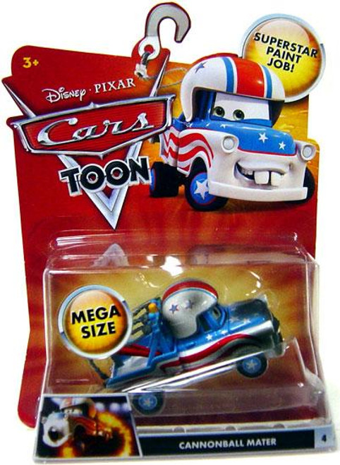 Disney Cars Cars Toon Deluxe Oversized Cannonball Mater Diecast Car
