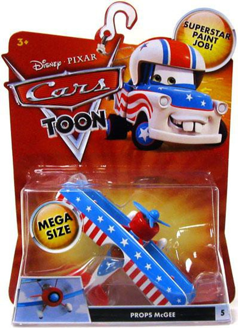 Disney Cars Cars Toon Deluxe Oversized Props McGee Diecast Car