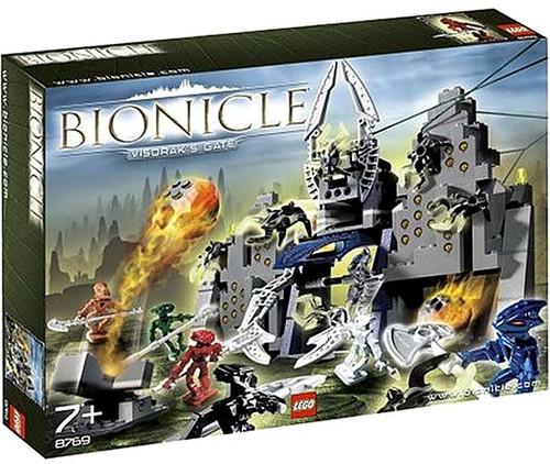 LEGO Bionicle Visorak's Gate Set #8769