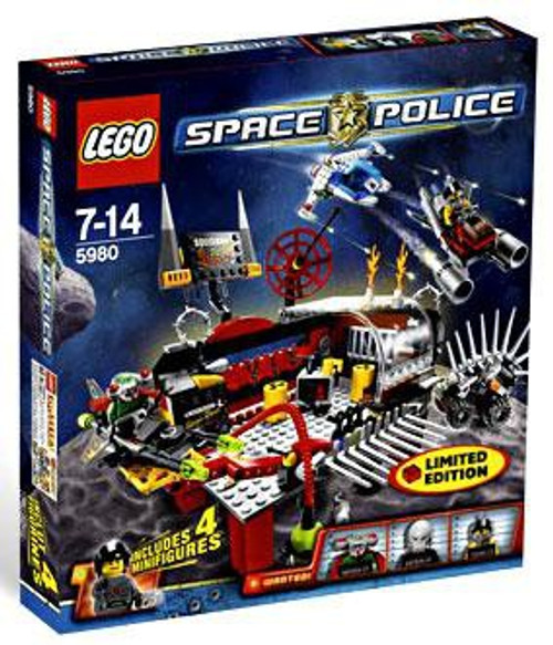 LEGO Space Police Squidman's Pitstop Exclusive Set #5980