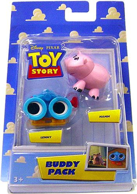 Toy Story Buddy Pack Lenny & Hamm Mini Figure 2-Pack
