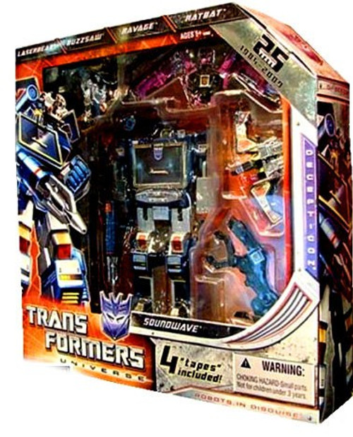 Transformers Universe 25th Anniversary Soundwave Exclusive Action Figure
