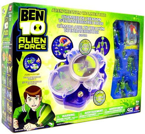 Ben 10 Alien Force Alien Creation Chamber Playset [Blue]