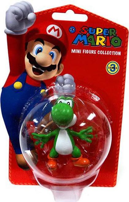 Super Mario Bros Series 3 Yoshi 2-Inch Vinyl Mini Figure