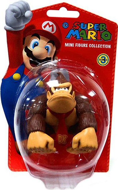 Super Mario Bros Series 3 Donkey Kong 2-Inch Vinyl Mini Figure