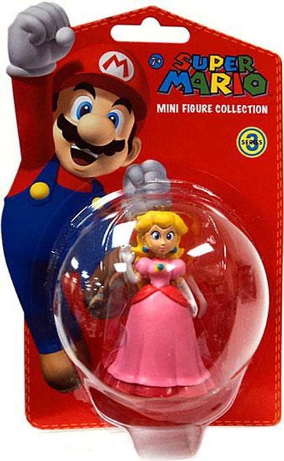 Super Mario Bros Series 3 Princess Peach 2-Inch Vinyl Mini Figure