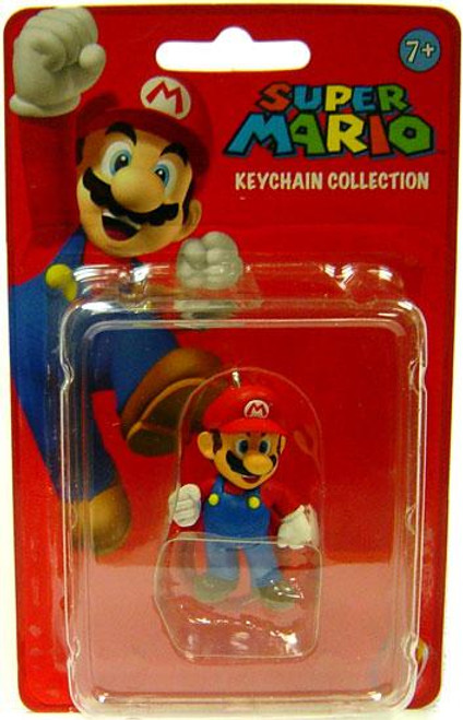 Super Mario Keychain Collection Series 1 Mario 2-Inch Keychain
