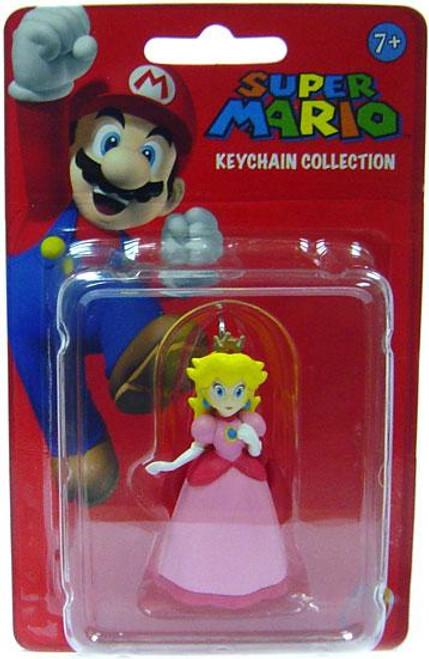 Super Mario Keychain Collection Series 1 Princess Peach 2-Inch Keychain