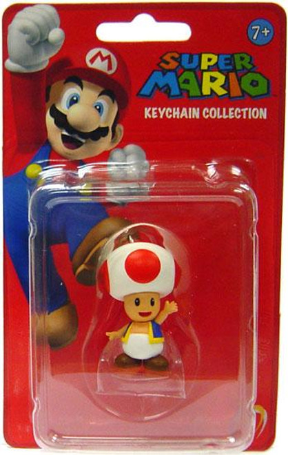 Super Mario Keychain Collection Series 1 Toad 2-Inch Keychain