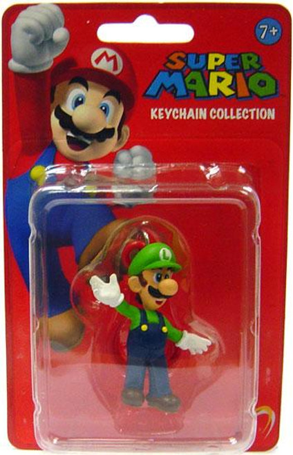 Super Mario Keychain Collection Series 1 Luigi 2-Inch Keychain