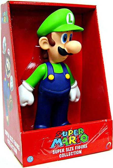 Super Mario Bros Series 1 Luigi 9-Inch Vinyl Figure
