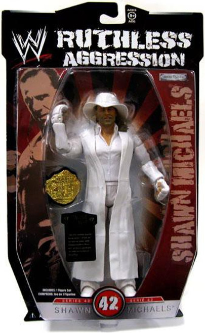 WWE Wrestling Ruthless Aggression Series 42 Shawn Michaels Action Figure