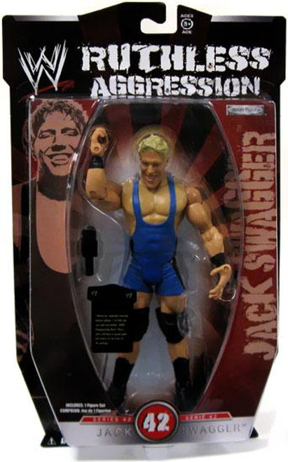 WWE Wrestling Ruthless Aggression Series 42 Jack Swagger Action Figure