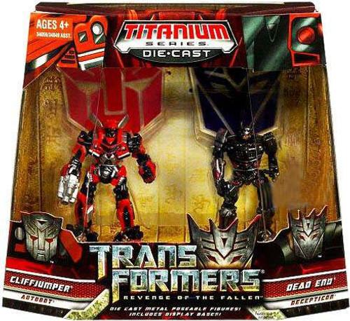 Transformers Revenge of the Fallen TItanium Series Cliffjumper & Dead End Exclusive Diecast Figure